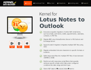 notestooutlook.net screenshot