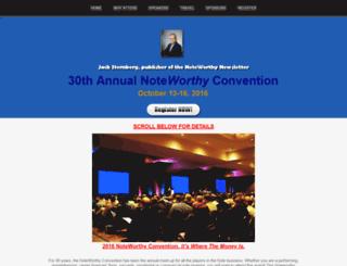 noteworthyconvention.com screenshot