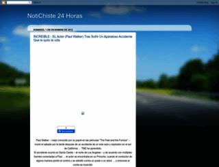 notichistesonline.blogspot.it screenshot