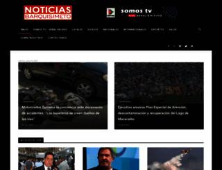 noticiasbarquisimeto.com screenshot