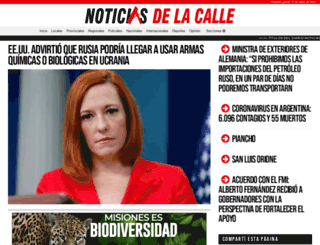 noticiasdelacalle.com.ar screenshot