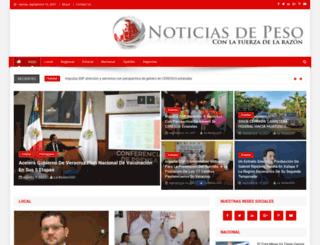noticiasdepeso.net screenshot
