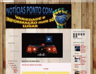 noticiasdobrunopontocom.blogspot.com.br screenshot