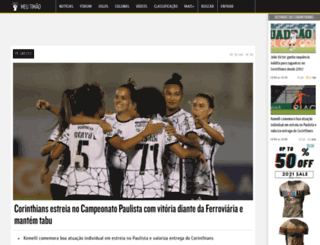 noticiasdocorinthians.com.br screenshot