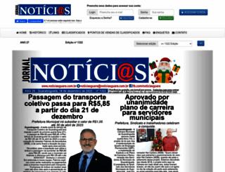 noticiasguara.com.br screenshot