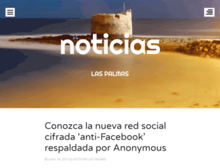 noticiaslaspalmas.wordpress.com screenshot