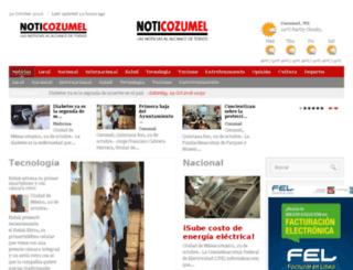 noticozumel.com screenshot