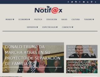 notifaxonline.com screenshot