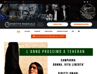 notizie.radicali.it screenshot