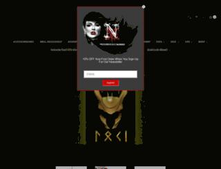 notoriouslymorbid.com screenshot