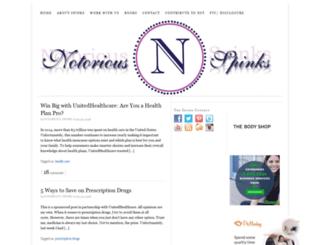 notoriousspinks.com screenshot