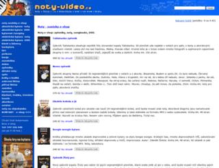 noty-video.cz screenshot