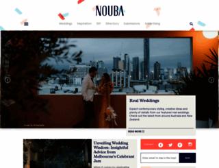 nouba.com.au screenshot