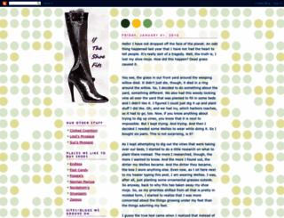 nouglyshoes.blogspot.com screenshot
