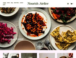 nourishatelier.com screenshot