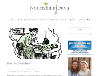 nourishingdays.com screenshot