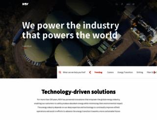 nov.com screenshot