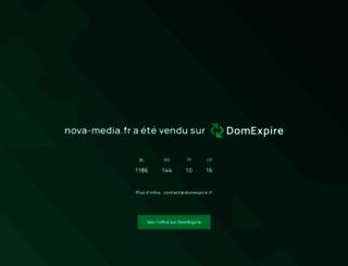 nova-media.fr screenshot