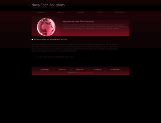 nova-tech-solutions.com screenshot