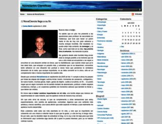 novaciencia.com screenshot