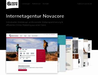 novacore.de screenshot