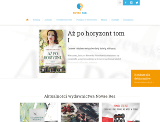novaeres.pl screenshot