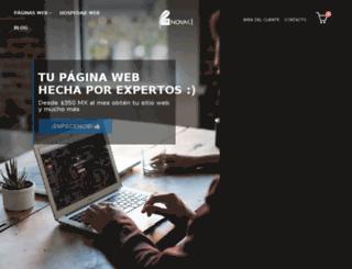 novak.com.mx screenshot