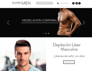 novalasermen.com screenshot