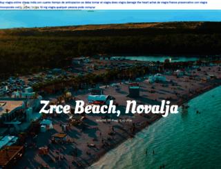 novalja.com screenshot