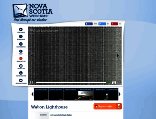 novascotiawebcams.com screenshot