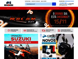 novasuzuki.com.br screenshot
