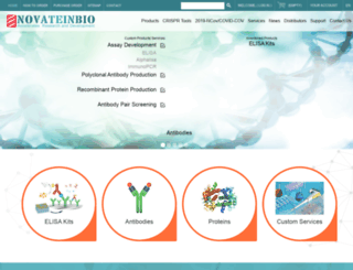novateinbio.com screenshot