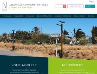 novea-energies.com screenshot