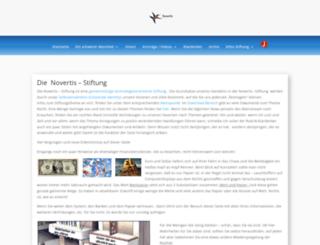 novertis.com screenshot
