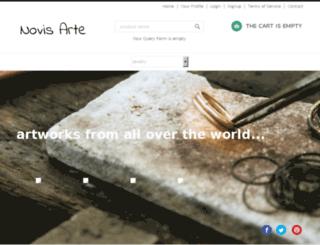novisarte.com screenshot
