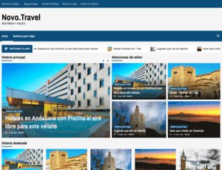 novo.travel screenshot