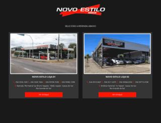 novoestiloveiculos.com.br screenshot