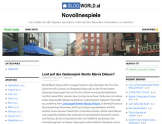 novolinespiele.blogworld.at screenshot