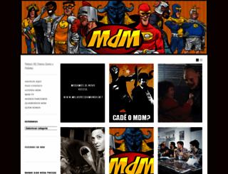 novomdm.wordpress.com screenshot
