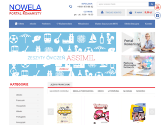nowela.pl screenshot
