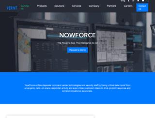 nowforce.com screenshot