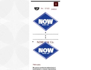 nowhairco.com screenshot