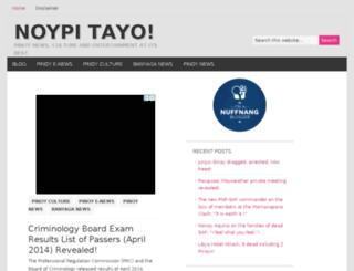 noypitayo.com screenshot