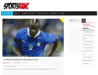 np.sportsranc.com screenshot