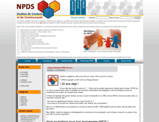 npds.org screenshot