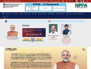 nppaindia.nic.in screenshot