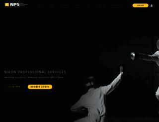 nps.nikon.com.au screenshot