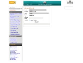 nptel.unipune.ac.in screenshot