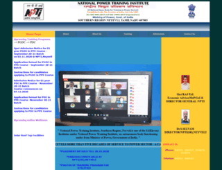 nptineyveli.in screenshot