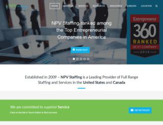 npvstaffing.com screenshot